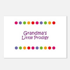 Grandma's Little Prodigy Postcards (Package of 8)
