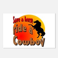 Ride a Cowboy Postcards (Package of 8)