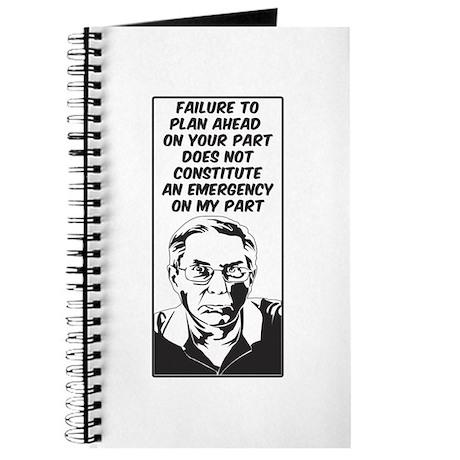 Failure to Plan - Journal