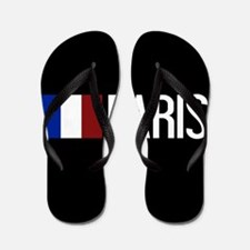 France: French Flag & Paris Flip Flops