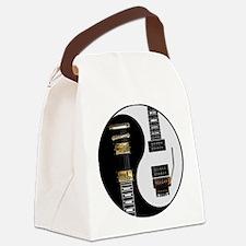 Yin Yang - Guitars Canvas Lunch Bag