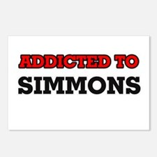 Addicted to Simmons Postcards (Package of 8)