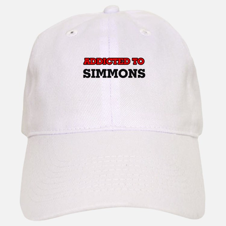 Addicted to Simmons Baseball Baseball Cap