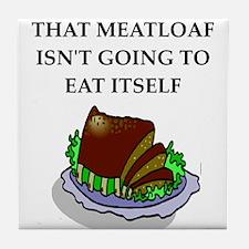 meatloaf Tile Coaster