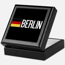 Germany: German Flag & Berlin Keepsake Box