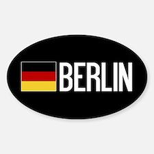 Germany: German Flag & Berlin Decal