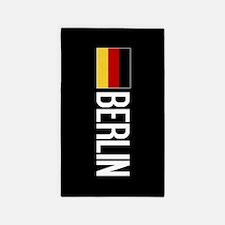 Germany: German Flag & Berlin Area Rug