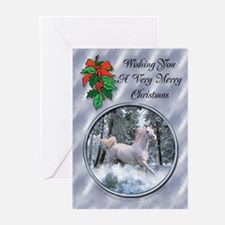 Snow Horse Christmas Cards (Pk of 10)