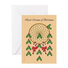 Dreamcatcher Christmas Greeting Card