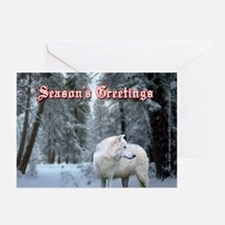 Wolf Christmas Cards (Pk of 20)