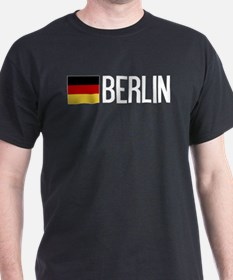 Germany: German Flag & Berlin T-Shirt