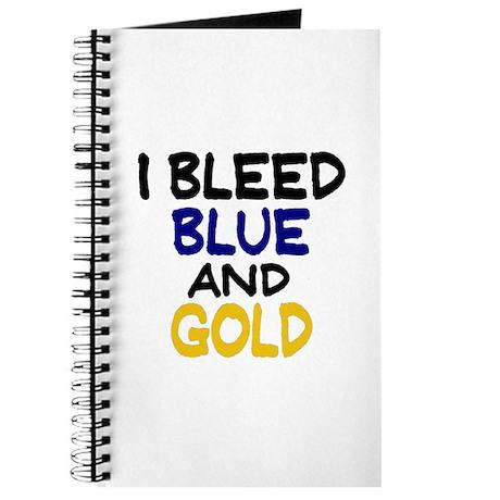 I Bleed Blue n Gold Journal