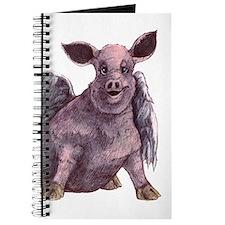 flying piggie journal
