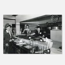 Time To Eat At Piccadilly's Diner! Postcards (Pack