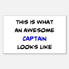 awesome captain4 Decal