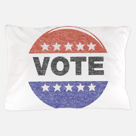 fadedVoteButton.png Pillow Case
