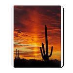 Saguaro Sunset Mousepad
