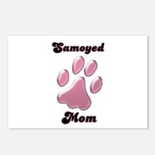 Samoyed Mom3 Postcards (Package of 8)