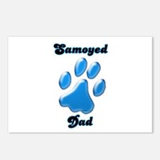 Samoyed Dad3 Postcards (Package of 8)