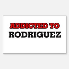 Addicted to Rodriguez Decal