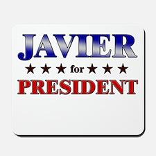 JAVIER for president Mousepad