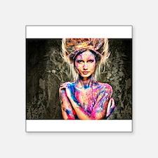 Color Girl Sticker