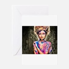 Color Girl Greeting Cards