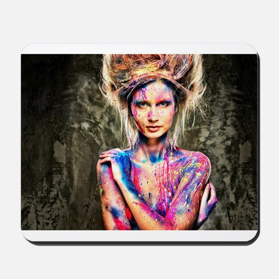 Color Girl Mousepad