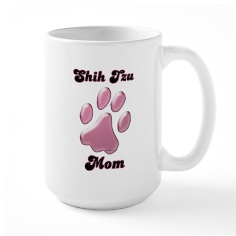 Shih Tzu Mom3 Large Mug
