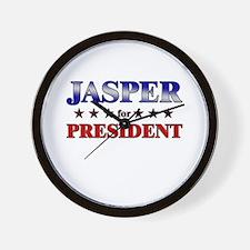 JASPER for president Wall Clock