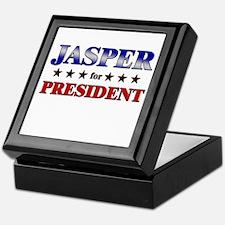 JASPER for president Keepsake Box