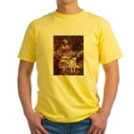 Path / Pitbull Yellow T-Shirt