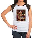 Path / Pitbull Women's Cap Sleeve T-Shirt