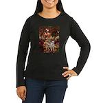 Path / Pitbull Women's Long Sleeve Dark T-Shirt