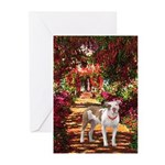Path / Pitbull Greeting Cards (Pk of 10)