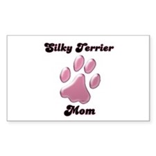 Silky Mom3 Rectangle Decal