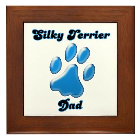 Silky Dad3 Framed Tile