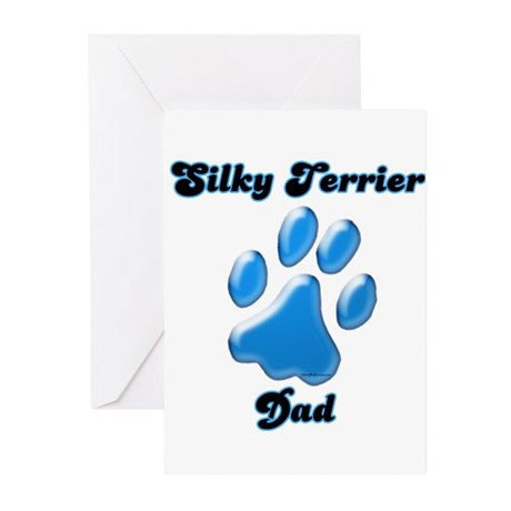Silky Dad3 Greeting Cards (Pk of 10)