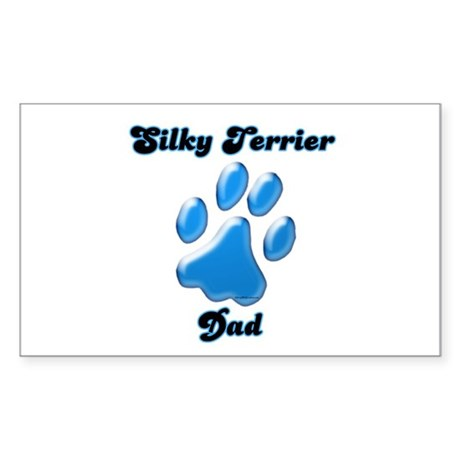 Silky Dad3 Rectangle Sticker