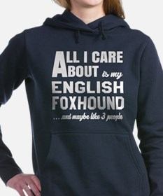 All I care about is my E Women's Hooded Sweatshirt