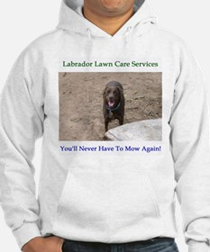 Lab Lawn Care Services Hoodie