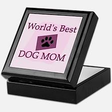 World's Best Dog Mom Keepsake Box