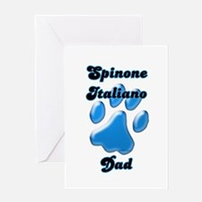 Spinone Dad3 Greeting Card