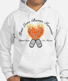 True Love Air Force Mom Hoodie