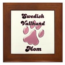 Vallhund Mom3 Framed Tile