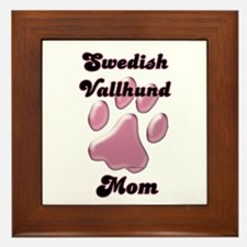 Vallhund Mom3 Framed Tile