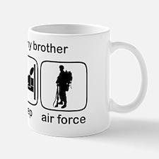 Eat Sleep Air Force - Support Bro Mug
