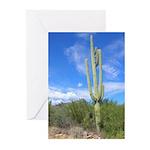 Tall Saguaro Solstice Greeting Cards (Pk of 10)