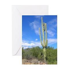 Tall Saguaro Greeting Card