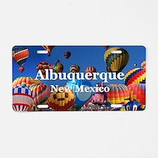 Albuquerque Aluminum License Plate